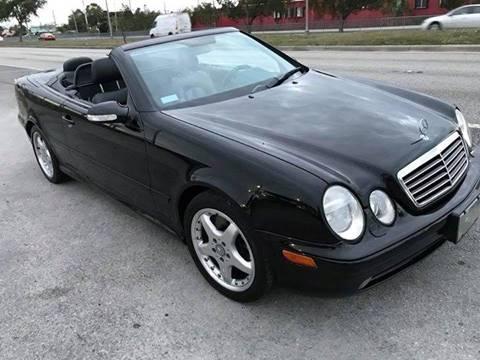 2002 Mercedes-Benz CLK for sale at LA Motors Miami in Miami FL