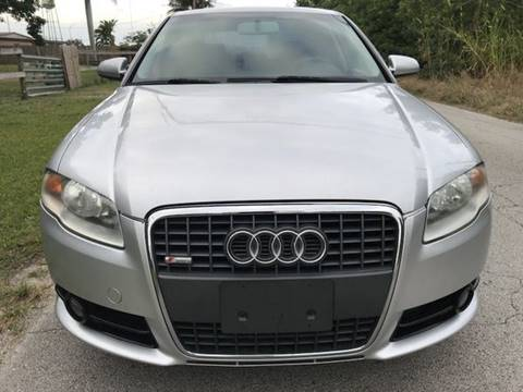 2007 Audi A4 for sale at LA Motors Miami in Miami FL