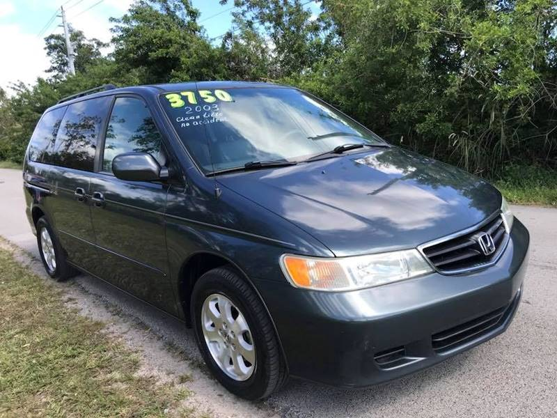 Awesome 2003 Honda Odyssey For Sale At LA Motors Miami In Miami FL