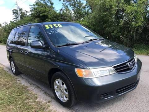 2003 Honda Odyssey for sale at LA Motors Miami in Miami FL
