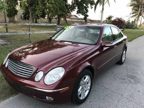 2003 Mercedes-Benz E-Class for sale at LA Motors Miami in Miami FL