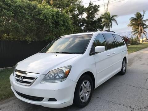 2007 Honda Odyssey for sale at LA Motors Miami in Miami FL