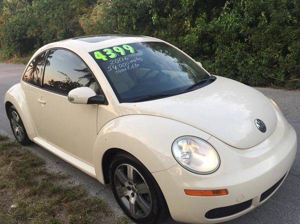 2006 Volkswagen New Beetle for sale at LA Motors Miami in Miami FL