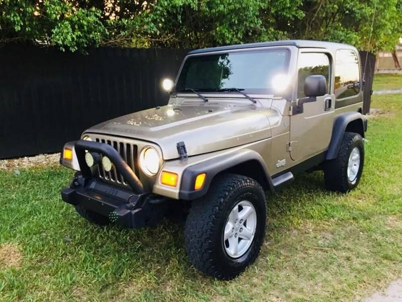 2004 Jeep Wrangler For Sale At LA Motors Miami In Miami FL