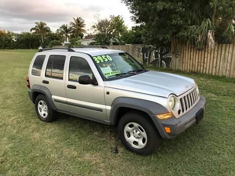 2005 Jeep Liberty for sale at LA Motors Miami in Miami FL