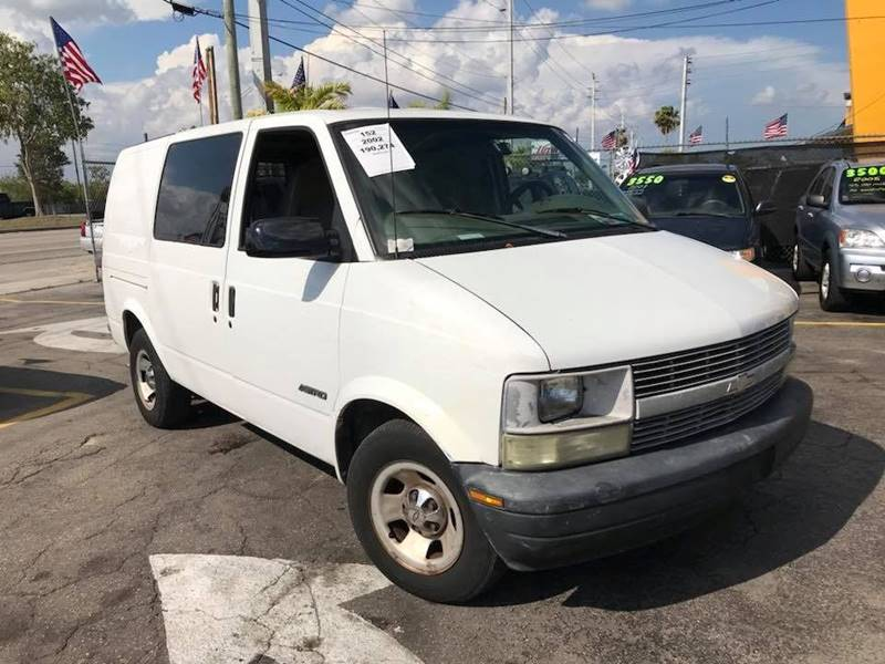 2002 Chevrolet Astro Cargo for sale at LA Motors Miami in Miami FL