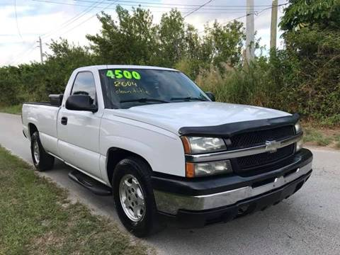 2004 Chevrolet Silverado 1500 for sale at LA Motors Miami in Miami FL