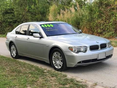 2002 BMW 7 Series for sale at LA Motors Miami in Miami FL