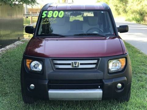 2007 Honda Element for sale at LA Motors Miami in Miami FL