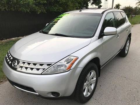 2007 Nissan Murano for sale at LA Motors Miami in Miami FL
