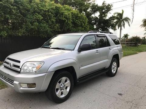 2004 Toyota 4Runner for sale at LA Motors Miami in Miami FL