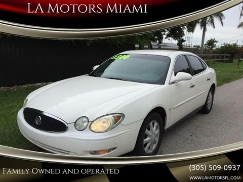 2006 Buick LaCrosse for sale at LA Motors Miami in Miami FL