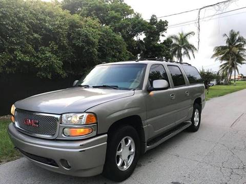 2003 GMC Yukon XL for sale at LA Motors Miami in Miami FL