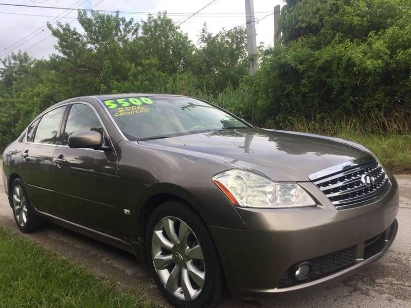 2006 Infiniti M35 for sale at LA Motors Miami in Miami FL