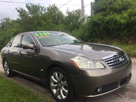 2006 Infiniti M35 for sale at LA Motors Miami in Miami FL