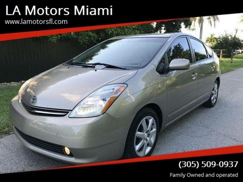 2009 Toyota Prius for sale at LA Motors Miami in Miami FL