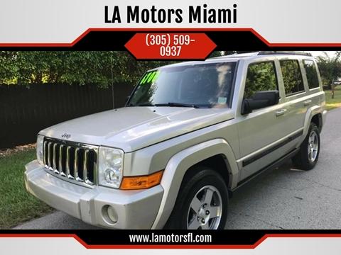 2009 Jeep Commander for sale in Miami, FL