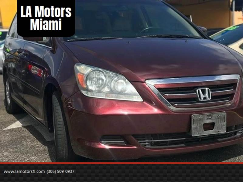 2007 Honda Odyssey for sale at LA Motors Miami in Miami FL