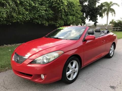 2005 Toyota Camry Solara for sale at LA Motors Miami in Miami FL