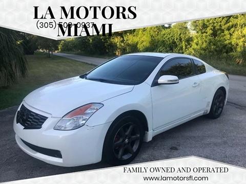 2008 Nissan Altima for sale at LA Motors Miami in Miami FL