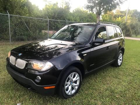 2009 BMW X3 for sale at LA Motors Miami in Miami FL