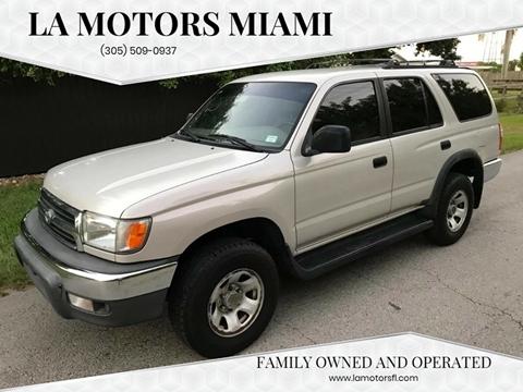 2000 Toyota 4Runner for sale at LA Motors Miami in Miami FL