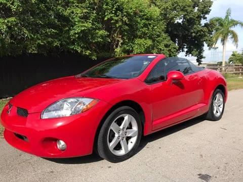 2007 Mitsubishi Eclipse Spyder for sale at LA Motors Miami in Miami FL
