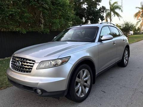 2003 Infiniti FX35 for sale at LA Motors Miami in Miami FL
