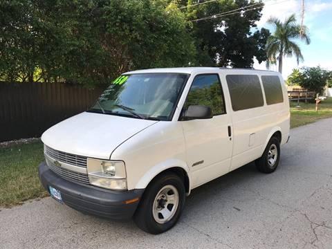 2002 Chevrolet Astro Cargo for sale at LA Motors Miami in Miami FL