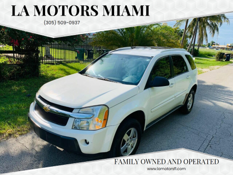 2005 Chevrolet Equinox for sale at LA Motors Miami in Miami FL