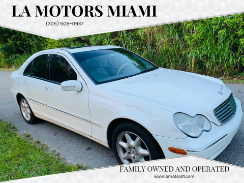 2004 Mercedes-Benz C-Class for sale at LA Motors Miami in Miami FL