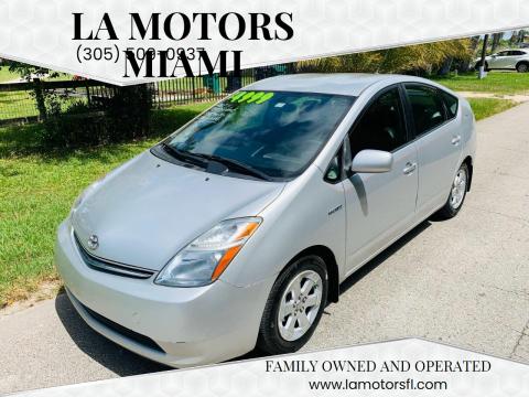 2007 Toyota Prius for sale at LA Motors Miami in Miami FL