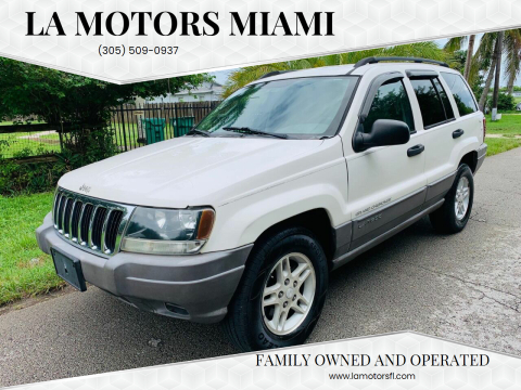 2003 Jeep Grand Cherokee for sale at LA Motors Miami in Miami FL
