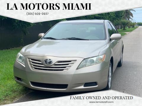 2007 Toyota Camry for sale at LA Motors Miami in Miami FL