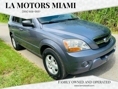 2009 Kia Sorento for sale at LA Motors Miami in Miami FL