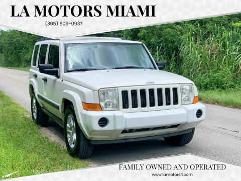 2006 Jeep Commander for sale at LA Motors Miami in Miami FL