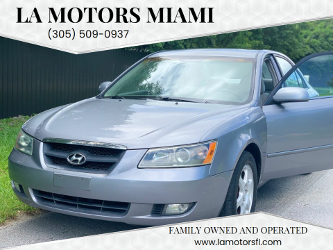 2006 Hyundai Sonata for sale at LA Motors Miami in Miami FL