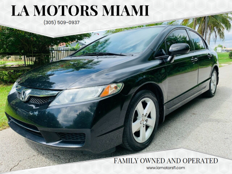 2011 Honda Civic for sale at LA Motors Miami in Miami FL