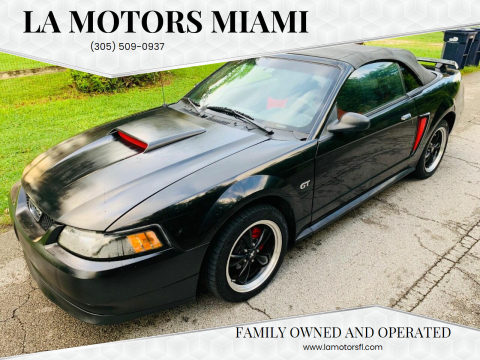 2001 Ford Mustang for sale at LA Motors Miami in Miami FL