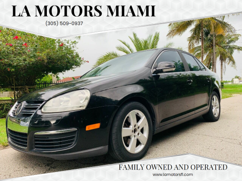 2008 Volkswagen Jetta for sale at LA Motors Miami in Miami FL