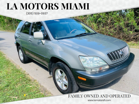 2001 Lexus RX 300 for sale at LA Motors Miami in Miami FL