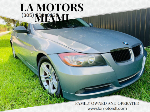 2008 BMW 3 Series for sale at LA Motors Miami in Miami FL