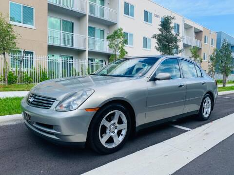 2004 Infiniti G35 for sale at LA Motors Miami in Miami FL