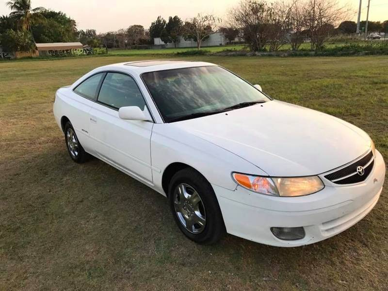 Elegant 2001 Toyota Camry Solara For Sale At LA Motors Miami In Miami FL
