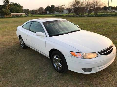 2001 Toyota Camry Solara for sale at LA Motors Miami in Miami FL