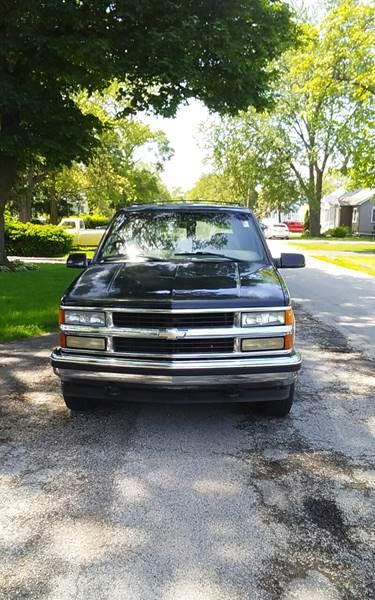 1999 Chevrolet Tahoe for sale at Melrose Park Cash Cars in Melrose Park IL