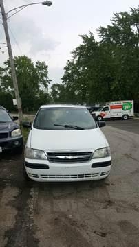 2002 Chevrolet Venture for sale at Melrose Park Cash Cars in Melrose Park IL