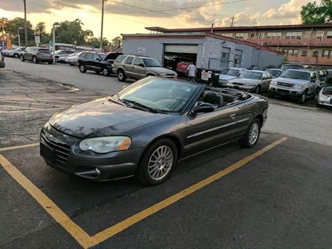 2005 Chrysler Sebring for sale at Melrose Park Cash Cars in Melrose Park IL