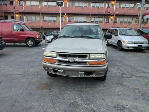 2003 Chevrolet Blazer for sale at Melrose Park Cash Cars in Melrose Park IL