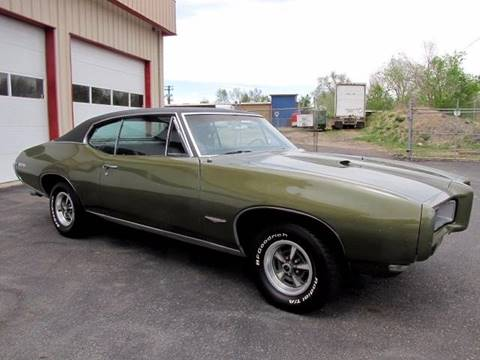1968 Pontiac GTO for sale at Street Dreamz in Denver CO